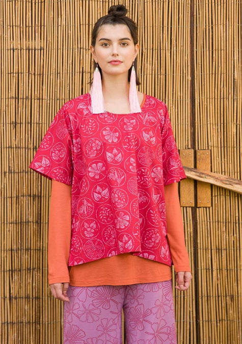 Blouse Kusama cherry