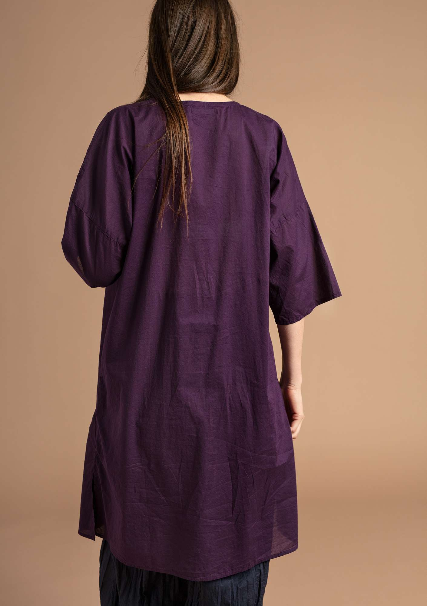 """Rigmor"" dress in eco-cotton lake"