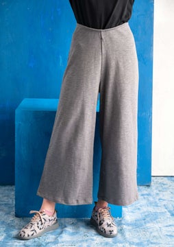 Jersey trousers graphite