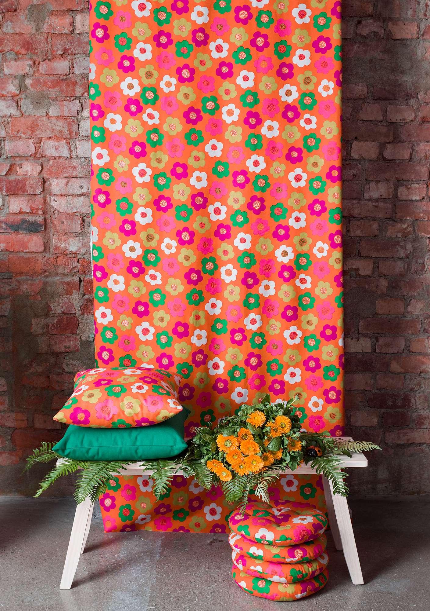 daisy organic cotton fabric gudrun sjödén