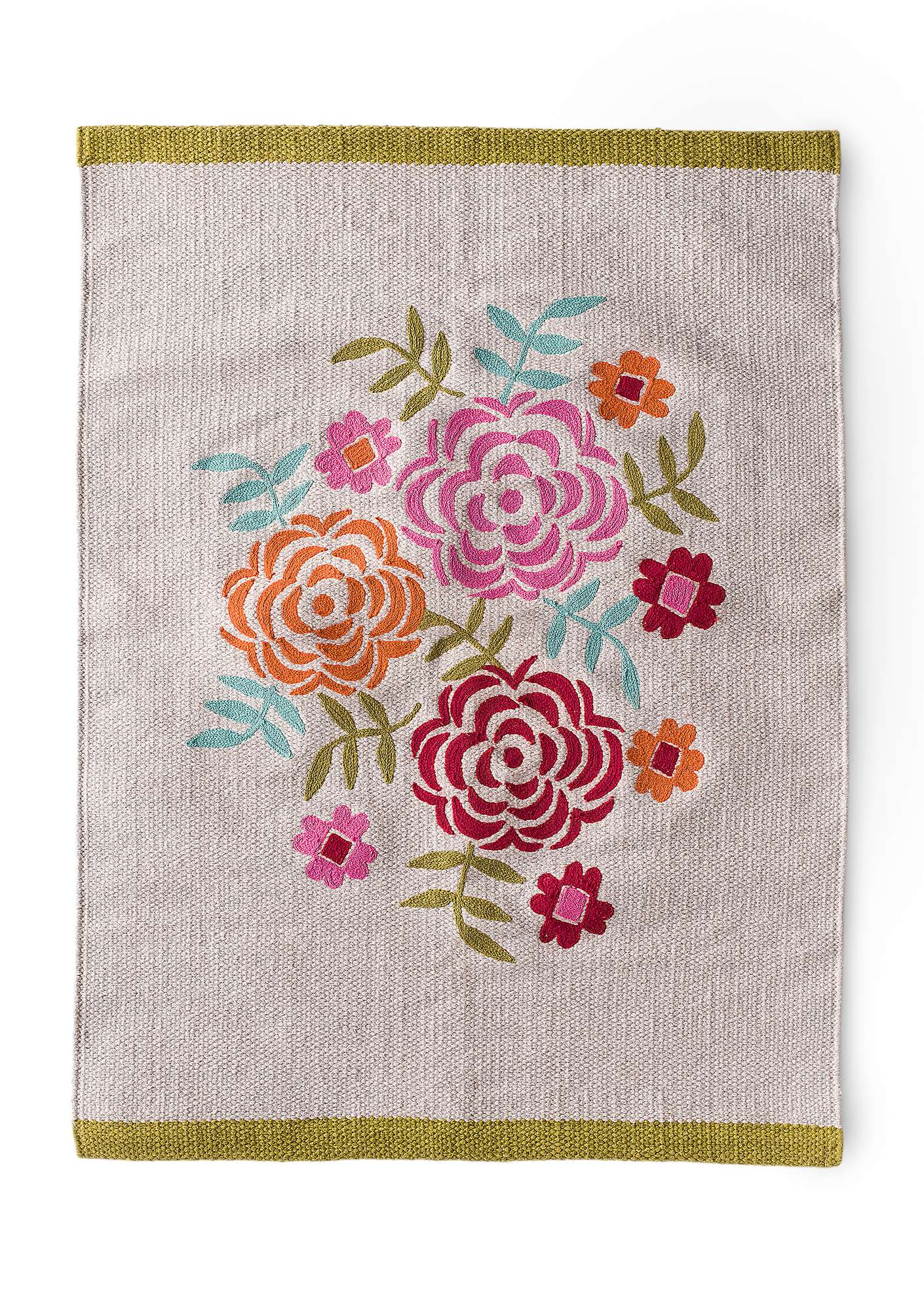 """Maya"" cotton mat natural"