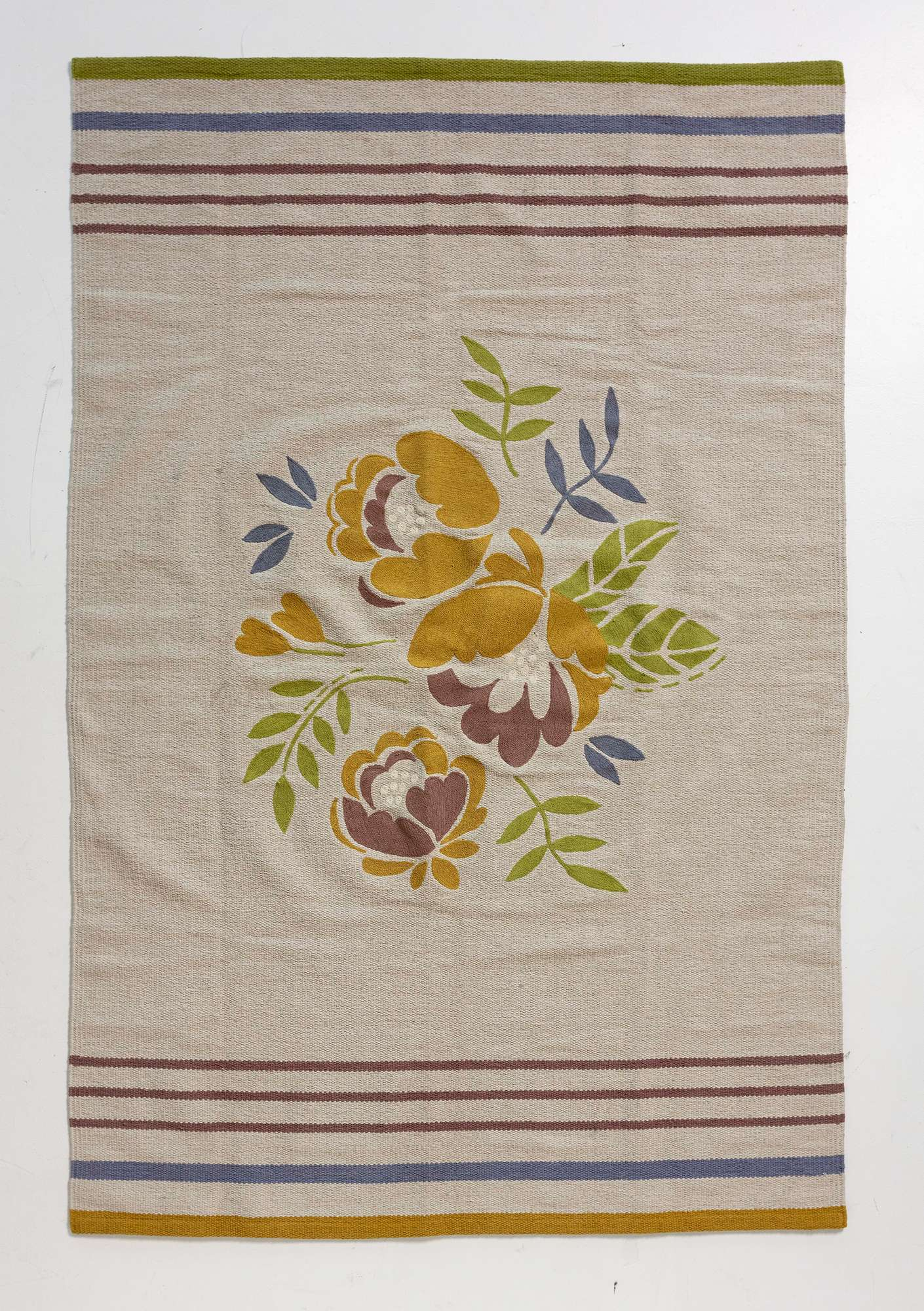 """Roza"" cotton mat natural"
