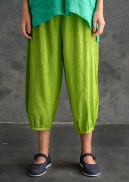 Pantalon uni tropical green