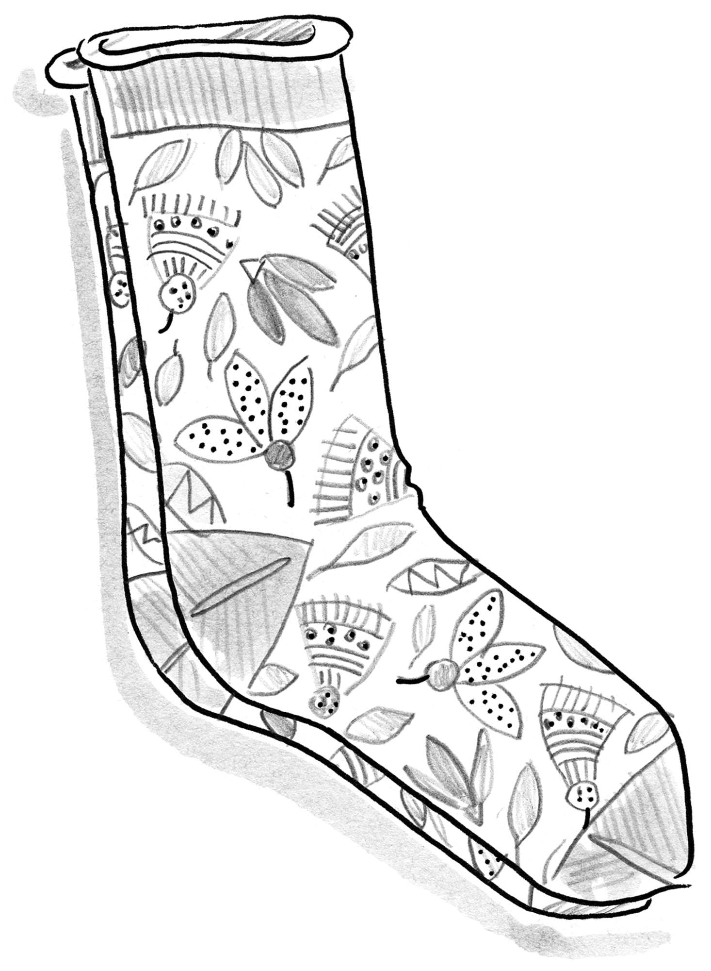 """Artemis"" organic cotton socks"