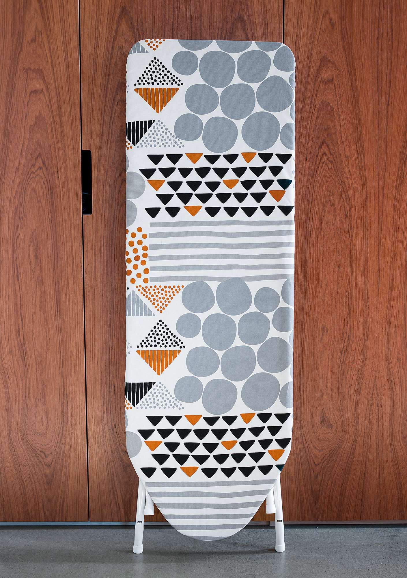 """Röse"" organic cotton ironing board cover grey"