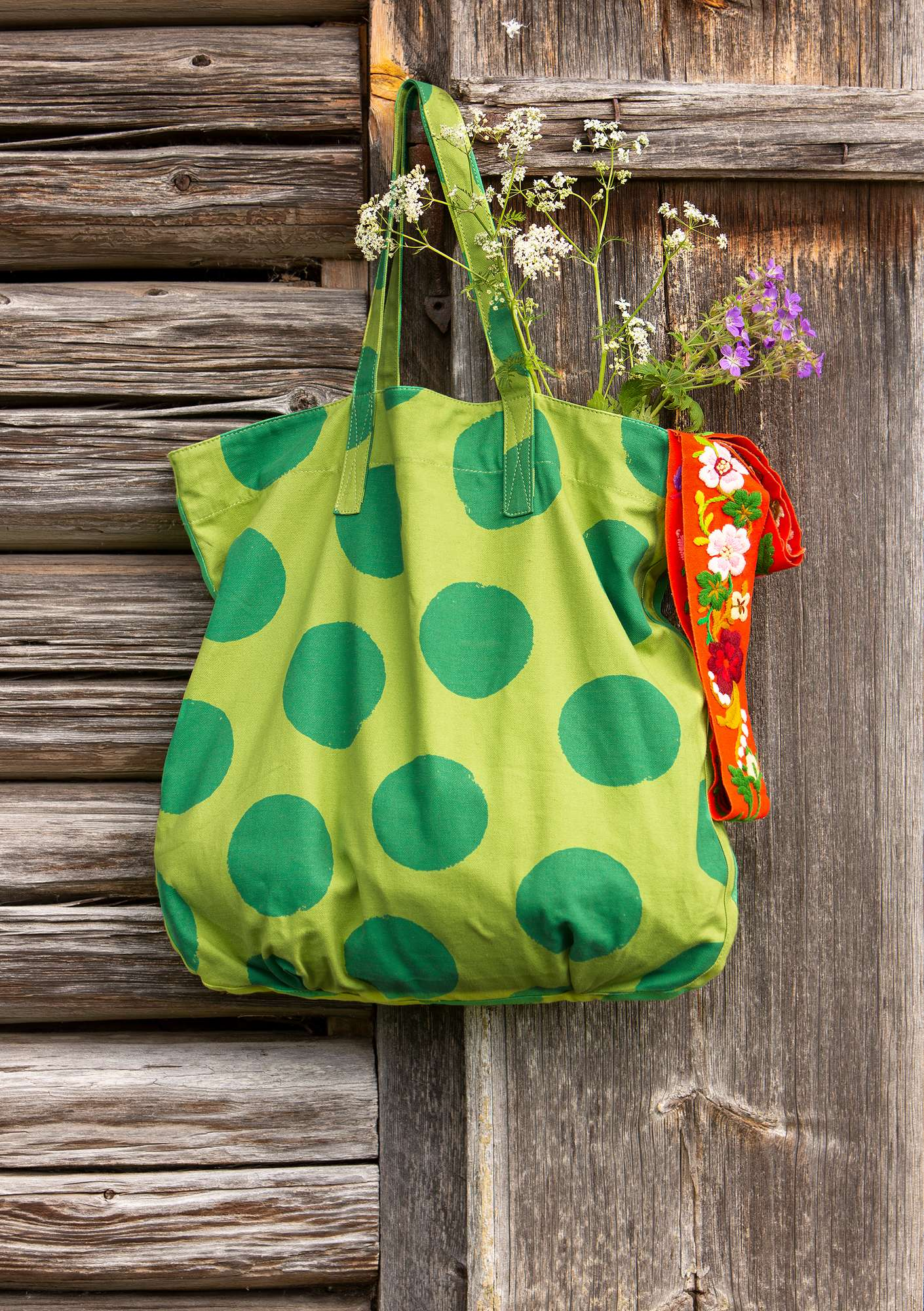 Dottie bag lotus green
