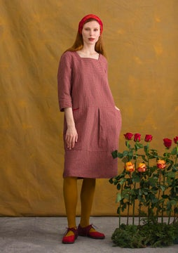 Lindblom dress cranberry/patterned