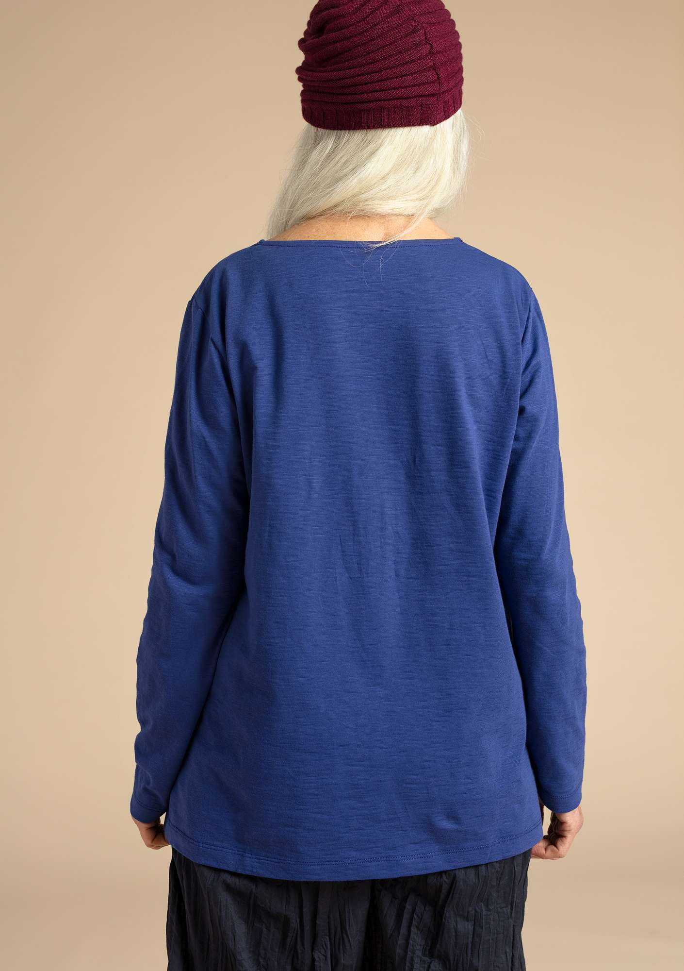 """Livia"" organic cotton top violet"