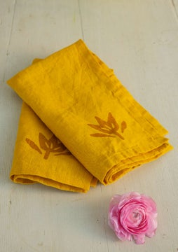 Serviette sunflower