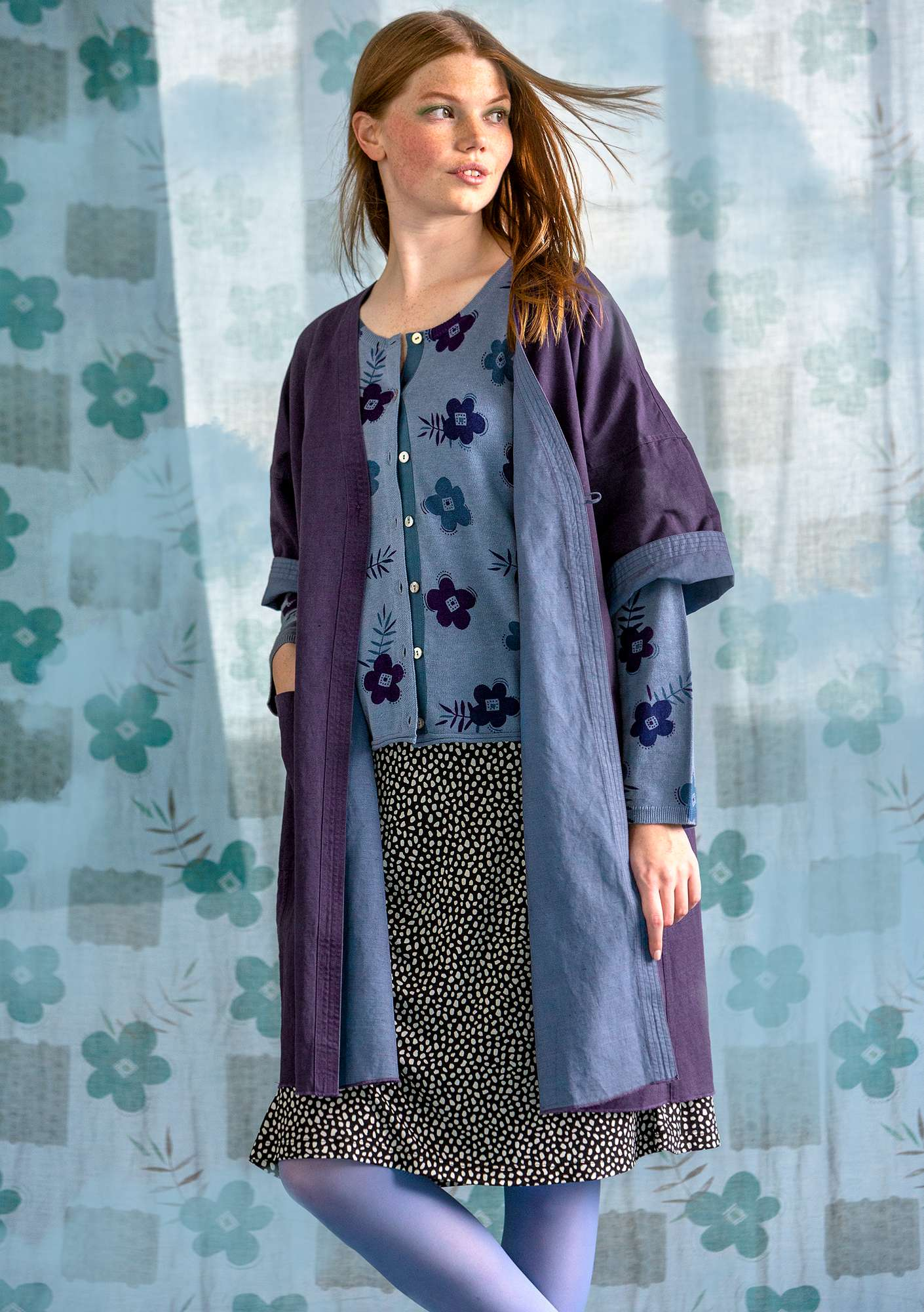 Twin robe light blue