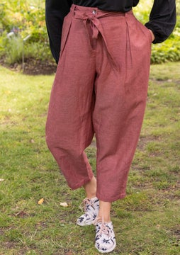Majorelle pants dark lily