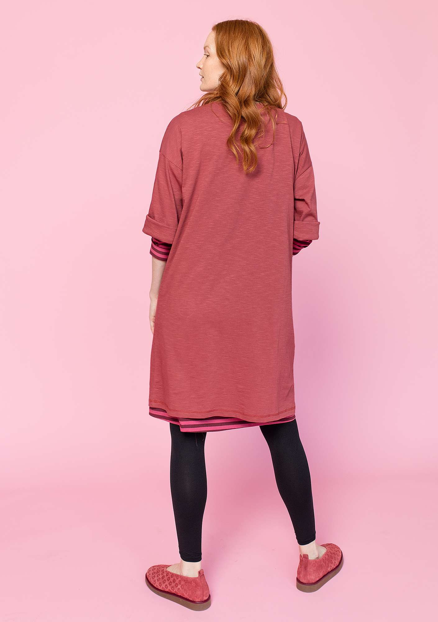 Dress in organic cotton gneiss