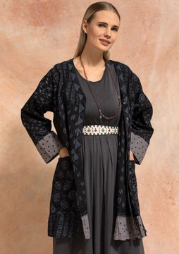 Nicole tunic black/patterned