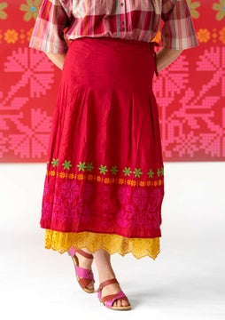 Maasi skirt cherry