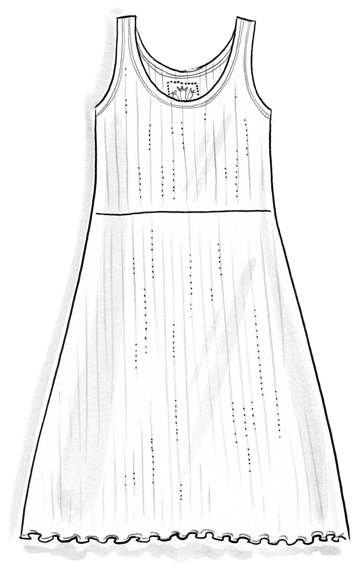 """Suckulent"" dress in micromodal/spandex"