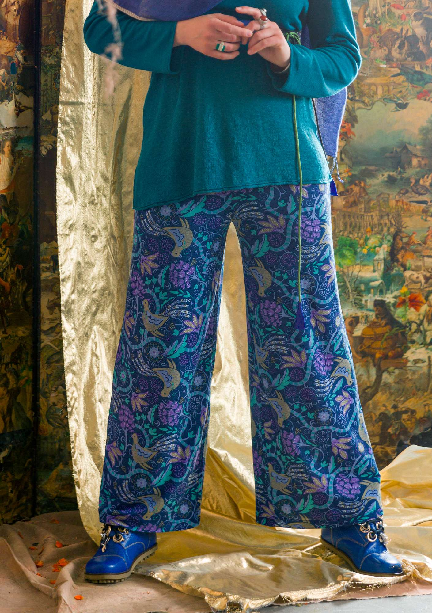 Paradis trousers midnight blue