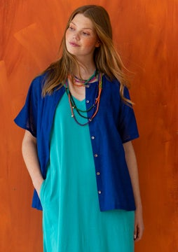 Makeba blouse klein blue