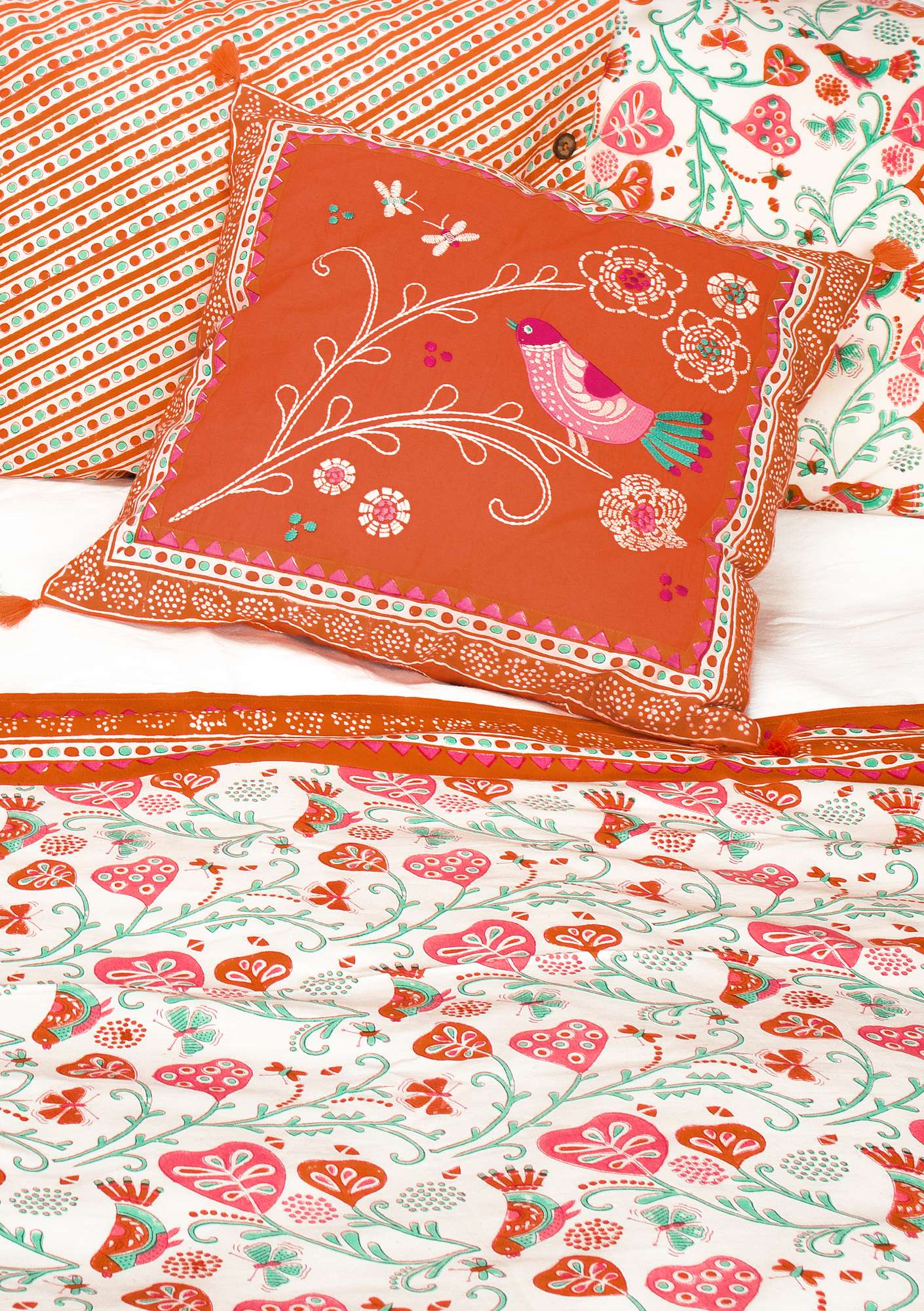 Kolibri cushion cover Orange