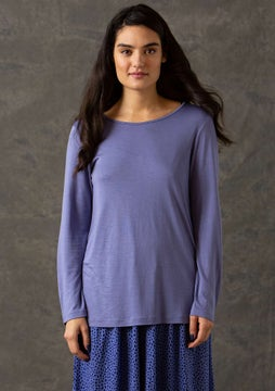 Dripp top dark lavender