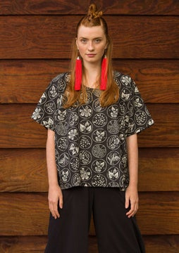 Blouse Kusama black