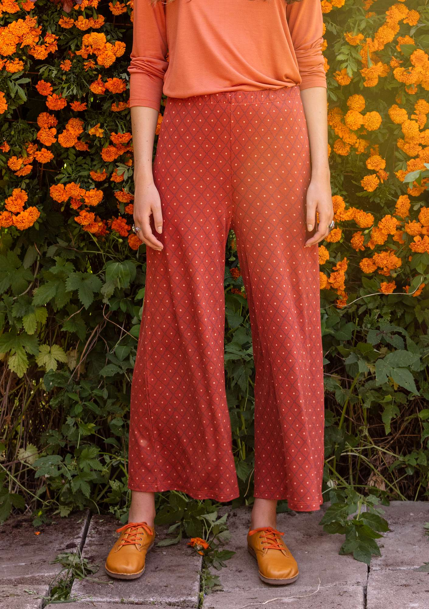 Romb trousers rust