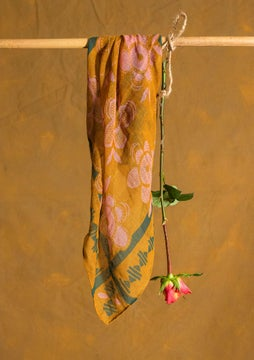Foulard Nora curry