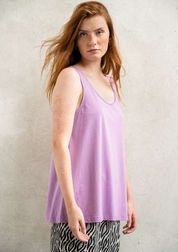 Jersey tank top wisteria