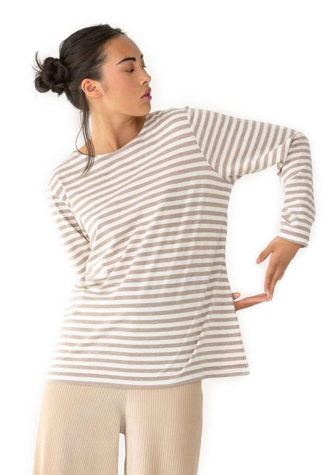 Essential striped sweater