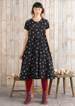 Vanja dress black/patterned