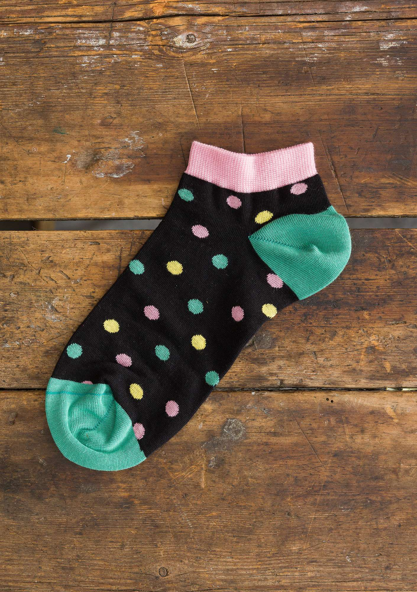 Belle ankle socks black