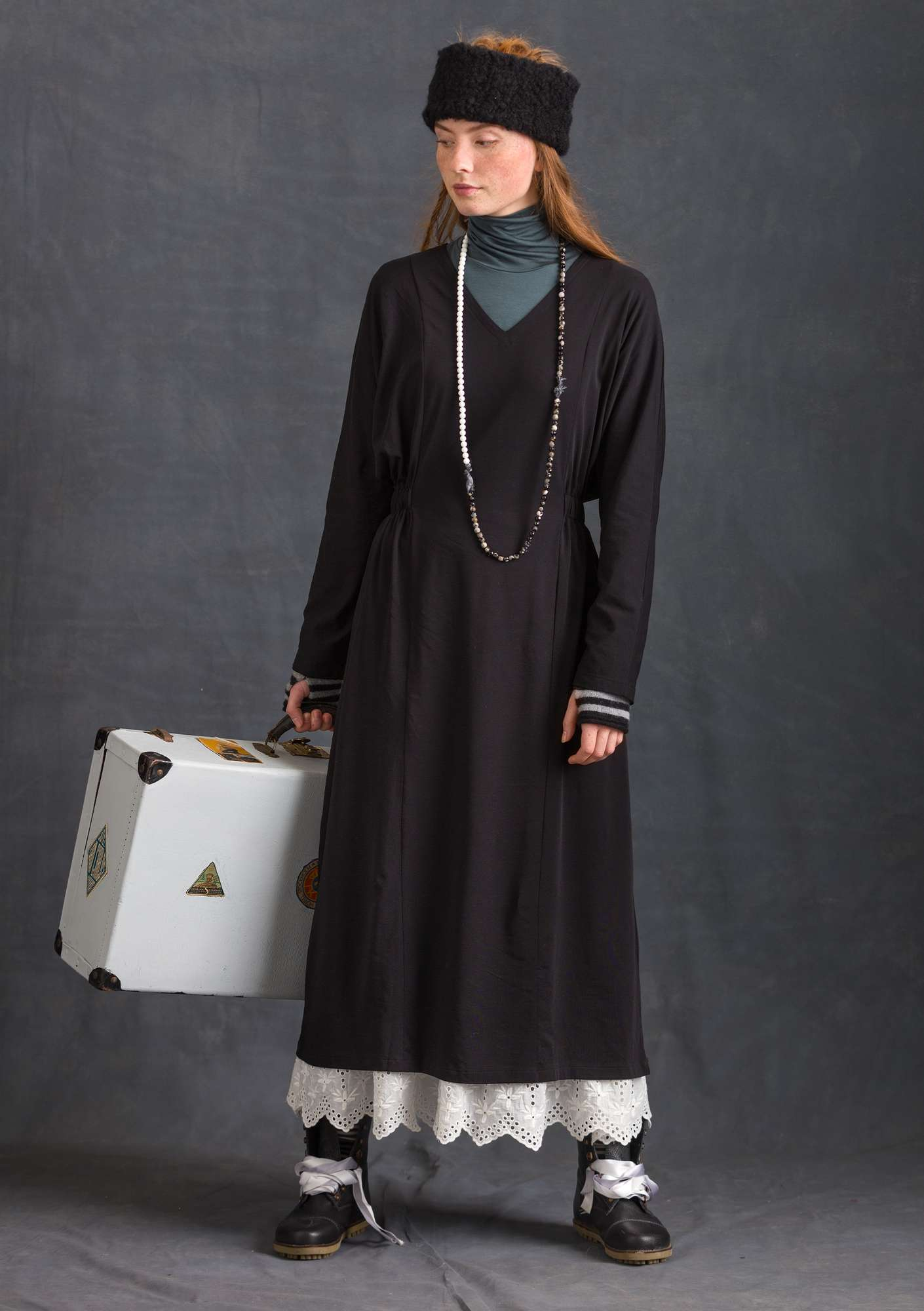 Robe unie black