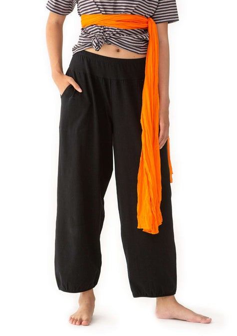 Pantalon de yoga black