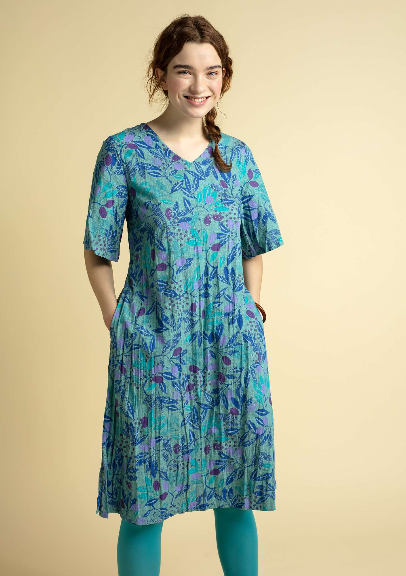 Olivia dress turquoise