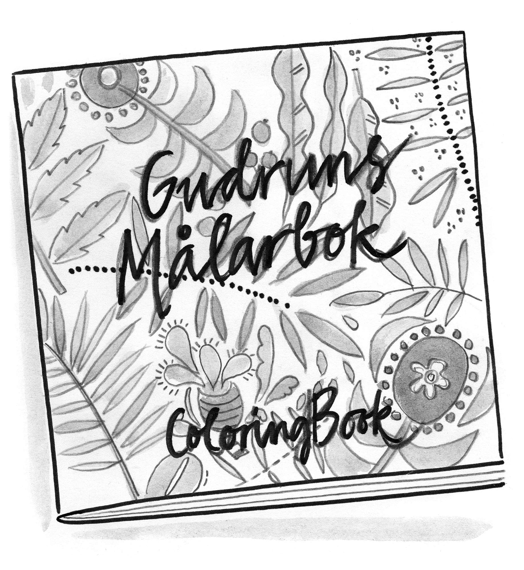 Gudrun s coloring book
