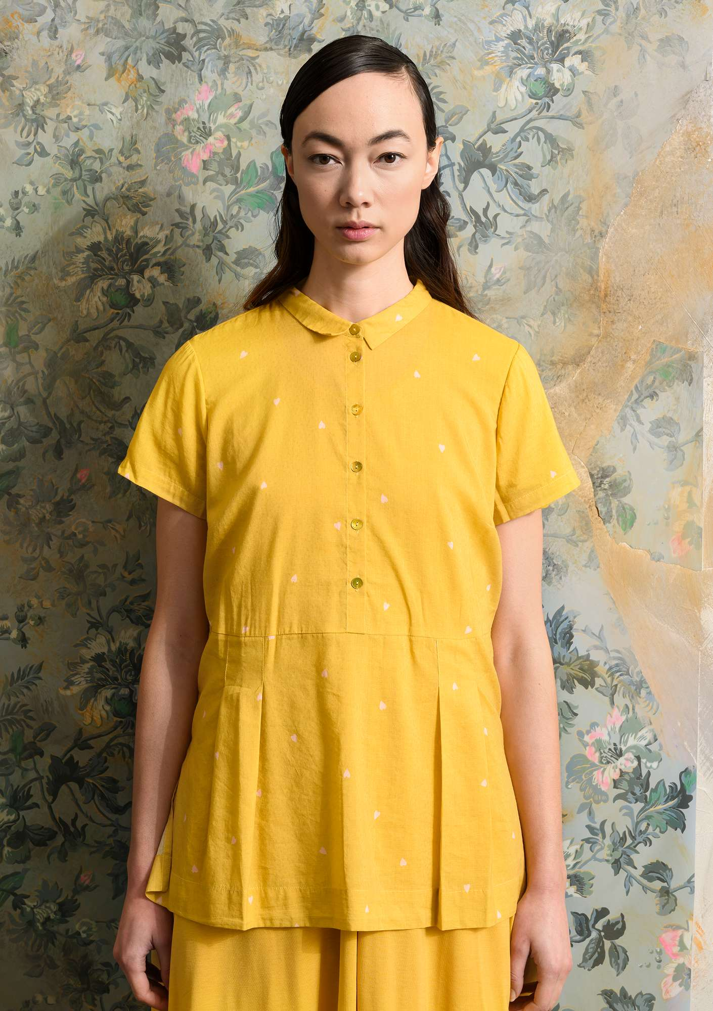 Blouse Heart laburnum