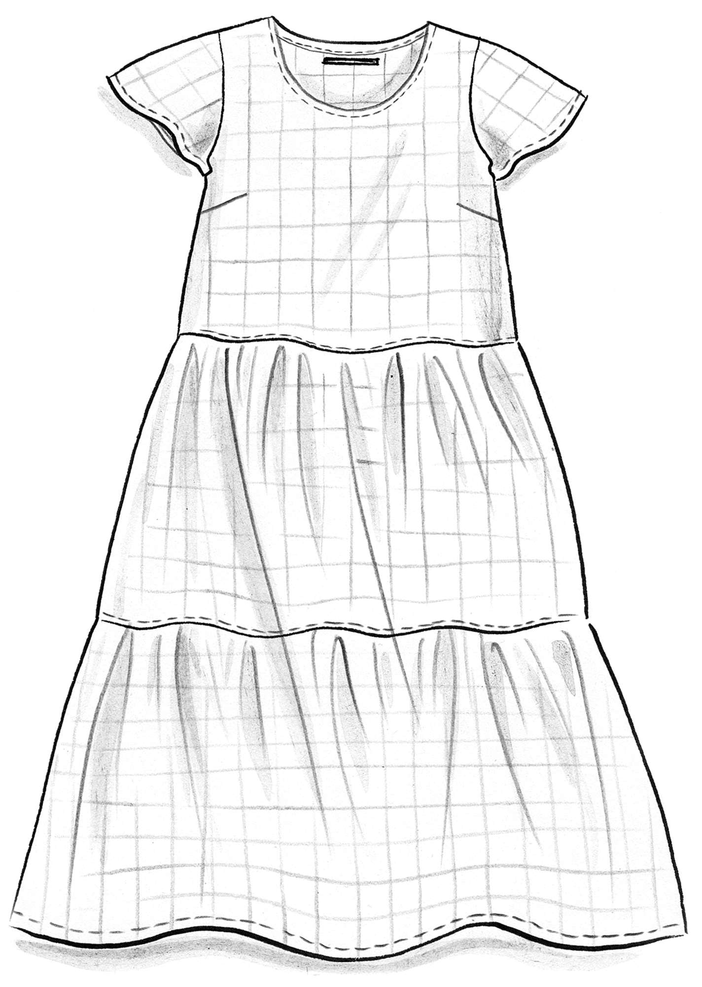 Linen/cotton dress