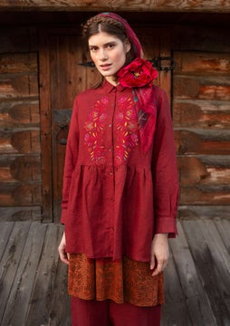 Petrovska tunic agate red