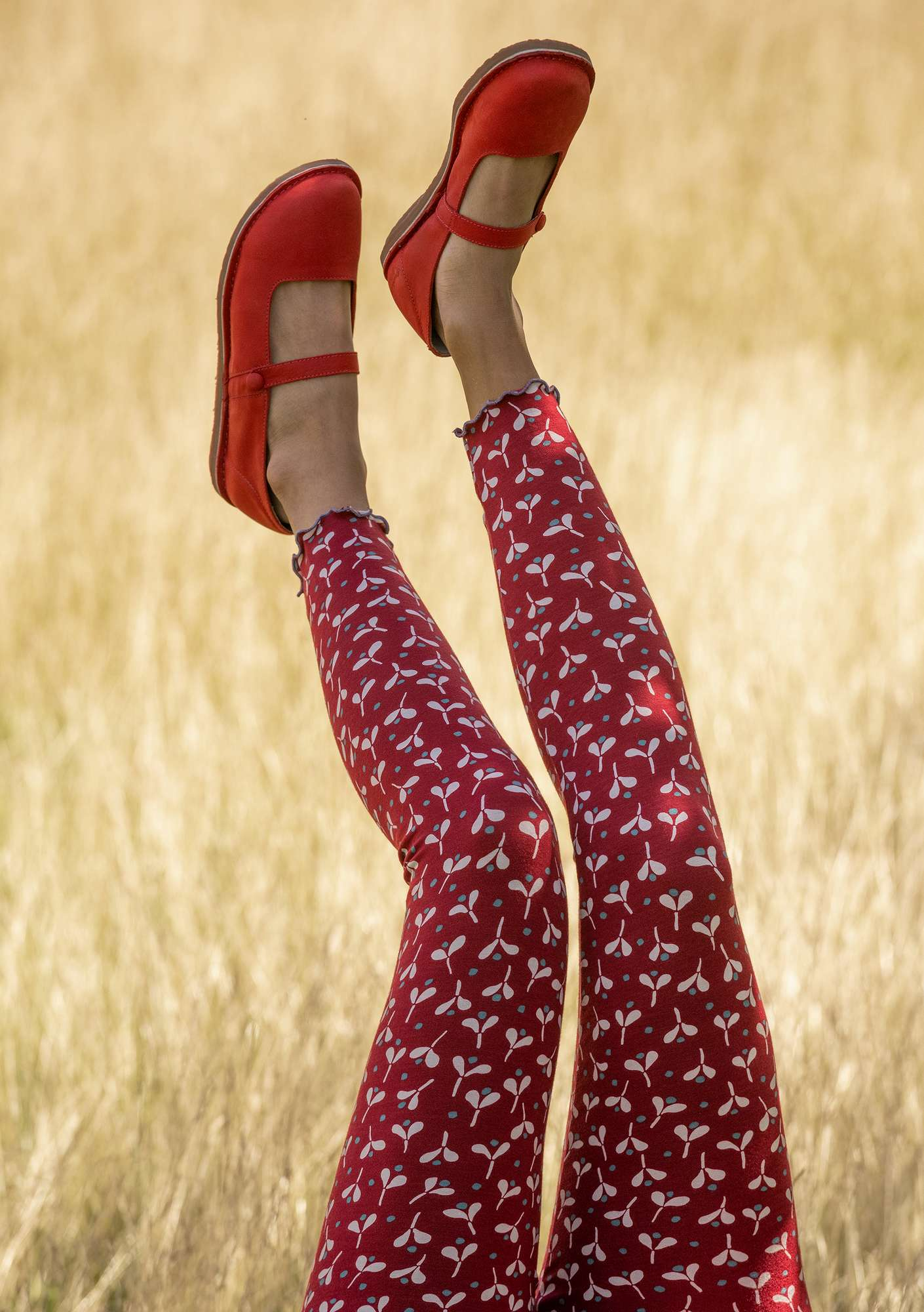 Legging Neha cranberry