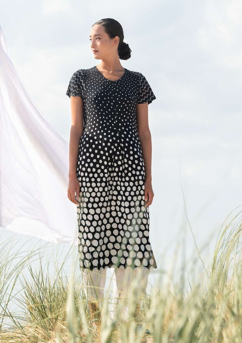 Raster dress black