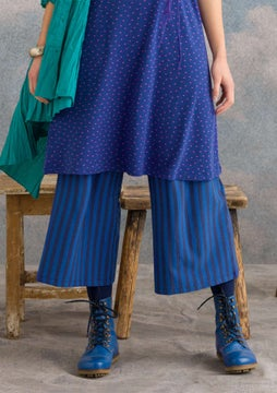 Striped trousers midnight blue/cobalt blue