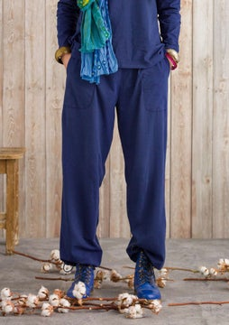 Petite trousers midnight blue