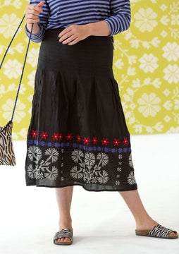 Maasi skirt black