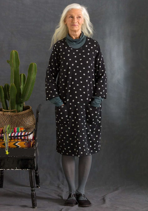 Bean dress black