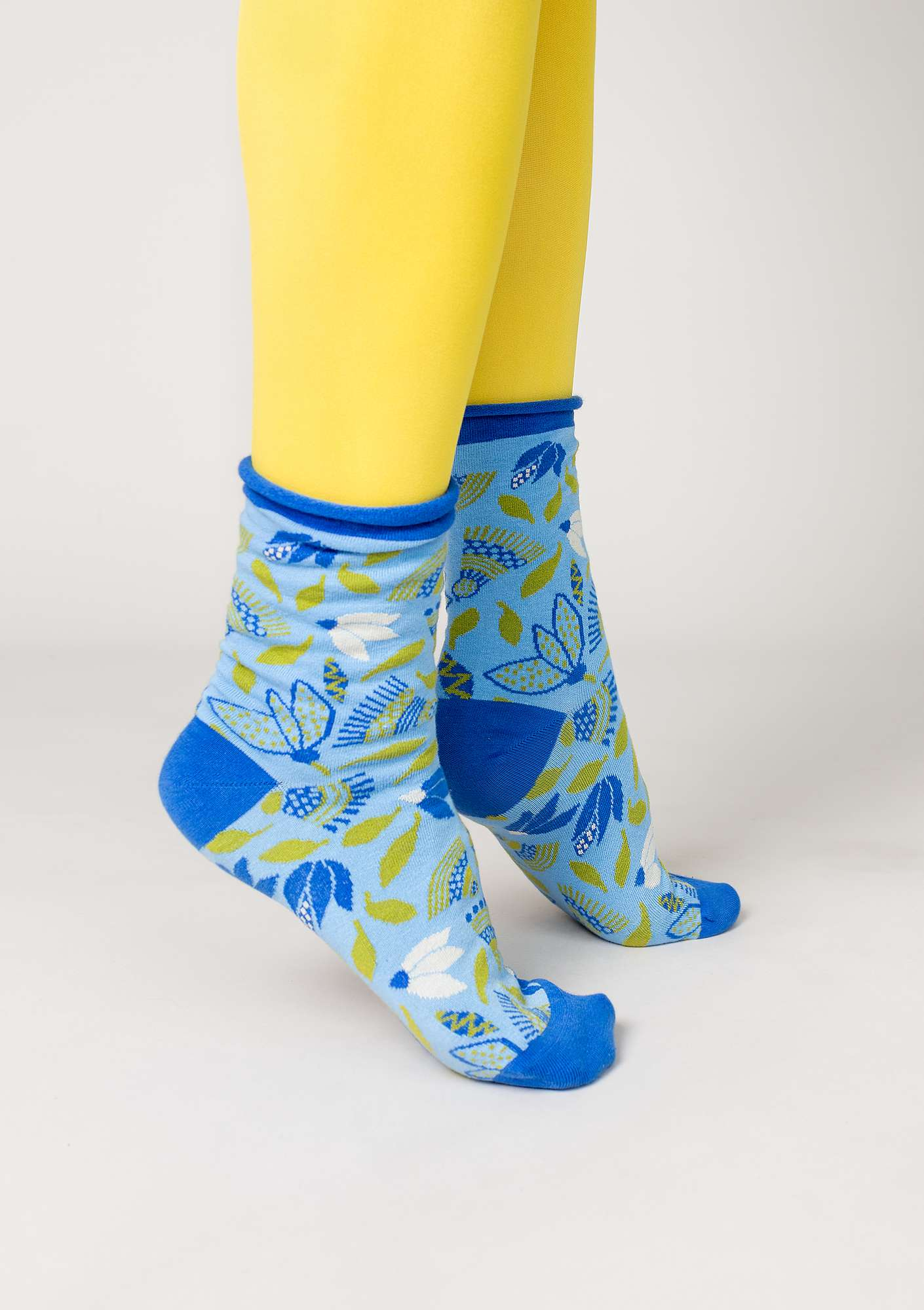 """Artemis"" organic cotton socks light chicory"
