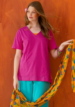 Tricot T-shirt hibiscus