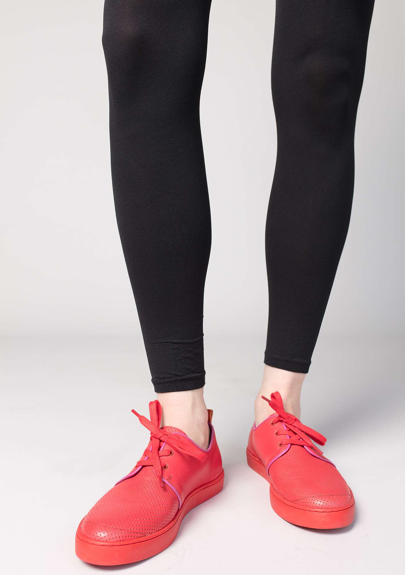 Leggings in recycled polyamide black