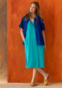 Jersey dress  turquoise