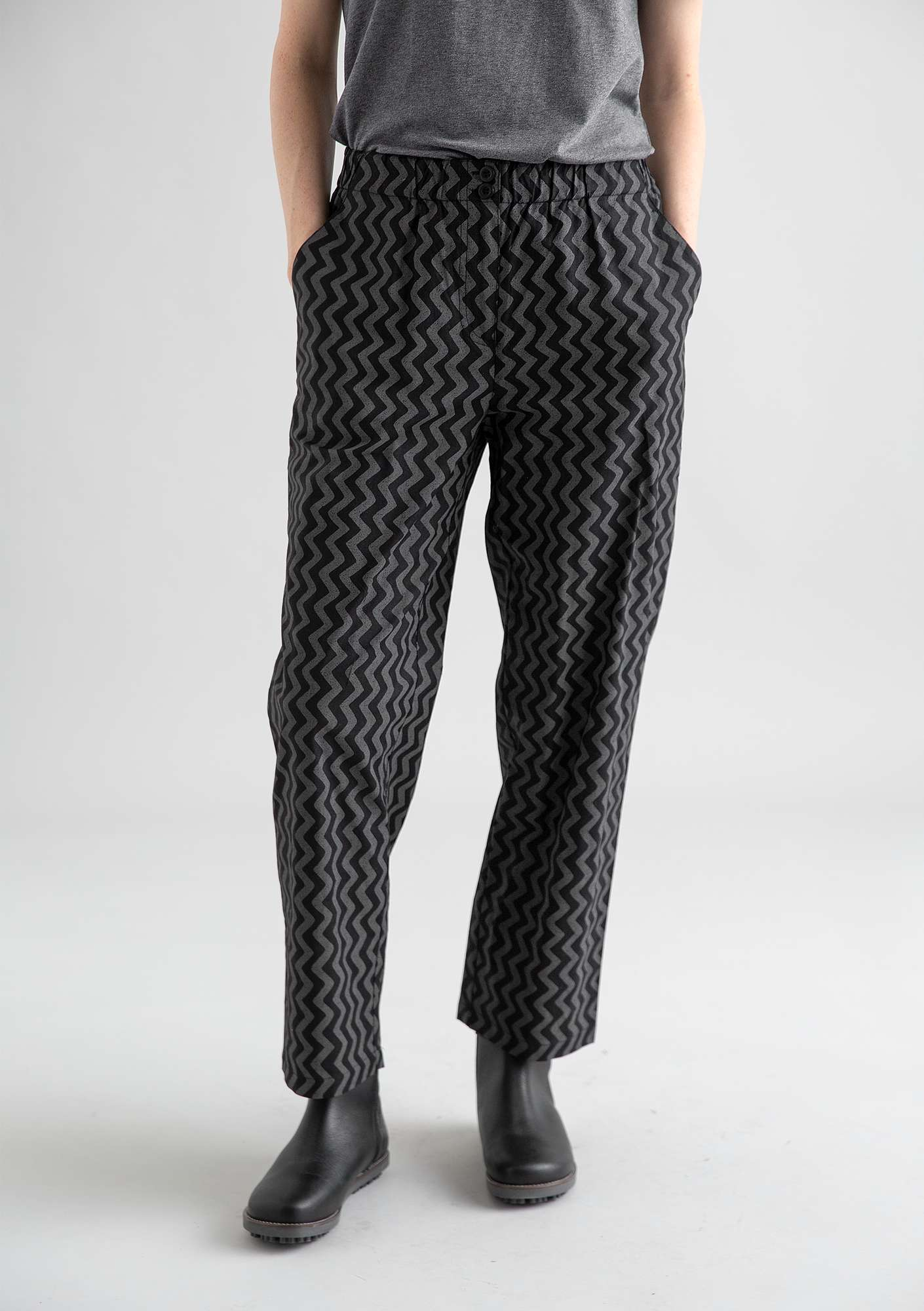 Hose Wilma black/patterned