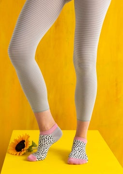 Striped leggings heron/light sand