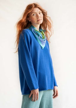 FAVOURITE sweater Rita cornflower blue